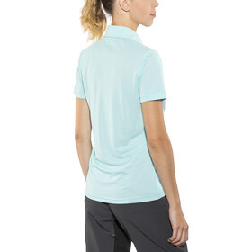 Ziener Clemenzia Polo Shirt Women blue glow